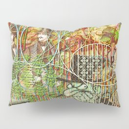 Crimson Petal's Lying Decay Pillow Sham