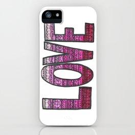 Love Design iPhone Case