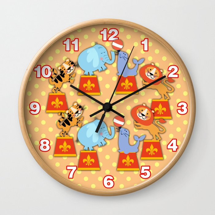 CIRCUS FUN Wall Clock