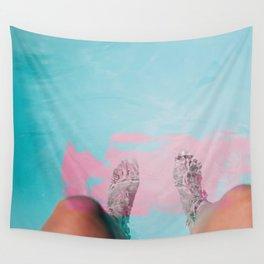 Both Feet In #society6 #buyart Wall Tapestry