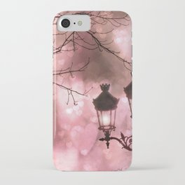Paris Holiday Sparkling Fairylights Christmas Lanterns Lamps Night Lights Paris Holiday Christmas iPhone Case