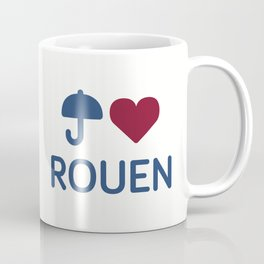 "I ""Love"" Rouen Coffee Mug"