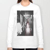 train Long Sleeve T-shirts featuring Train by Lama BOO