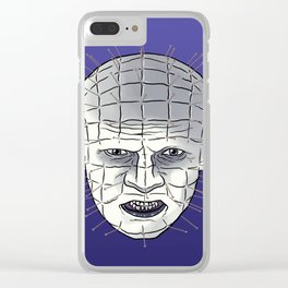Head Of Pins Clear iPhone Case