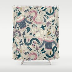 Winter Woolies Shower Curtain