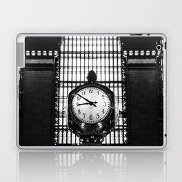 Clock in Grand Central Terminal Laptop & iPad Skin