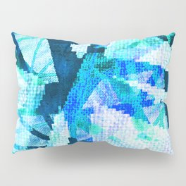 pixilated icicles  Pillow Sham