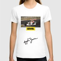 senna T-shirts featuring Senna by Rassva