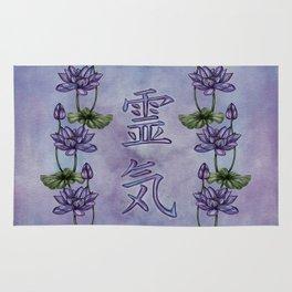 Reiki Symbols with Lotus Rug
