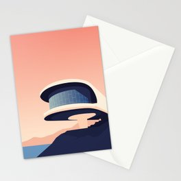 Soviet Modernism: Writers' Resort in Sevan, Armenia Stationery Cards