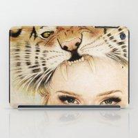 beast iPad Cases featuring BEAST by Tessa