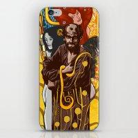 klimt iPhone & iPod Skins featuring Klimt  by Nicolae Negura