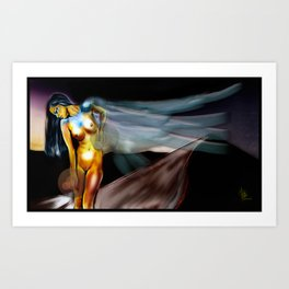 Domina Lumen Art Print