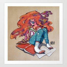 Queen of Kings Art Print