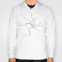 dc Hoodies featuring DC Metro by indelible international