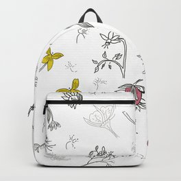 Flower passion Backpack