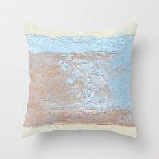 textures overlap 1 Throw Pillow