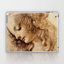 "Leonardo da Vinci ""Woman's head"" 3. Laptop & iPad Skin"