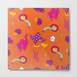 Mushrooms of Alice Metal Print