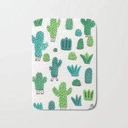 Cactus Don't Shave Bath Mat