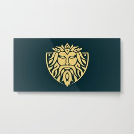 ANCIENT GREEK LOGO Metal Print