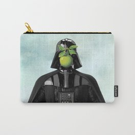 """Darth Vader in """"The Son of a Man"""" by Magritte Carry-All Pouch"""