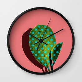 Tropical Leaf #03 Wall Clock