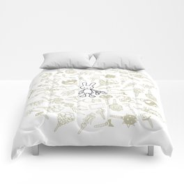 minima - beta bunny / gear Comforters