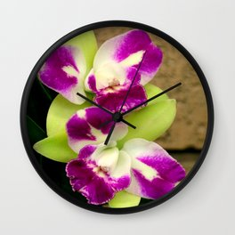 Proudly Peloric Purple... Wall Clock