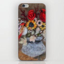 Cardinal Bouquet iPhone Skin