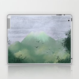 Volcano in the jungle Laptop & iPad Skin