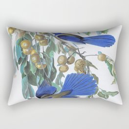 Florida Jay - John James Audubon Rectangular Pillow