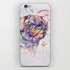 Pug Dog // Pugression iPhone & iPod Skin
