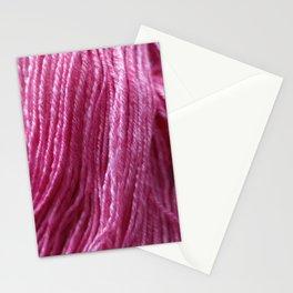 Handspun Yarn / Hot Pink! Stationery Cards