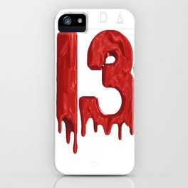 TATTOO Halloween The 13th of Friday tshirt iPhone Case