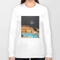 the shining Long Sleeve T-shirts featuring Stars Shining by Djuno Tomsni