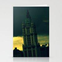 gotham Stationery Cards featuring Gotham by Mili Wolfe