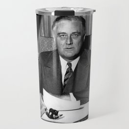 President Franklin Roosevelt Travel Mug