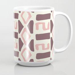 Pink Fall Tribal #society6 #tribal Coffee Mug