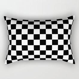 Checkerboard Squares Rectangular Pillow