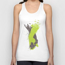 Living With Harmony Unisex Tank Top