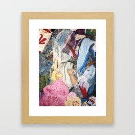 K act insure Framed Art Print