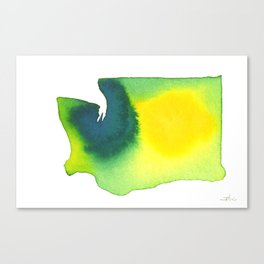 Washington Green Canvas Print