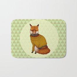 Foxy sweater Bath Mat