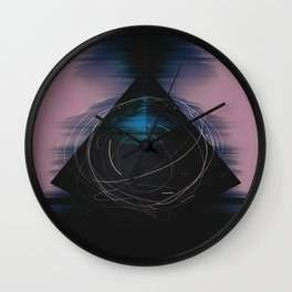 Energy Influx Wall Clock