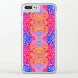 Varietile 47 (Repeating 1) Clear iPhone Case