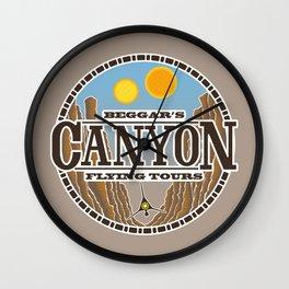Beggar's Canyon Tours Wall Clock