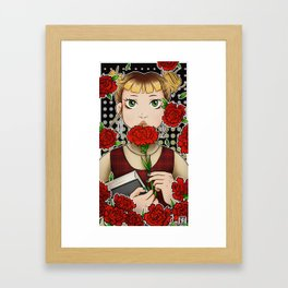 Book day Framed Art Print