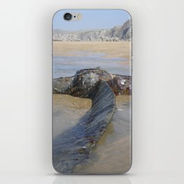 PROPELLER FROM 1917 SHIPWRECK OF SS BELEM CORNWALL iPhone Skin