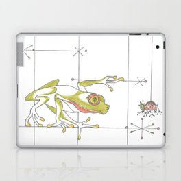 Whimsical Frog & Spider Laptop & iPad Skin